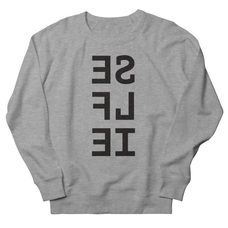 Selfie Men's French Terry Sweatshirt by Elefunfunt