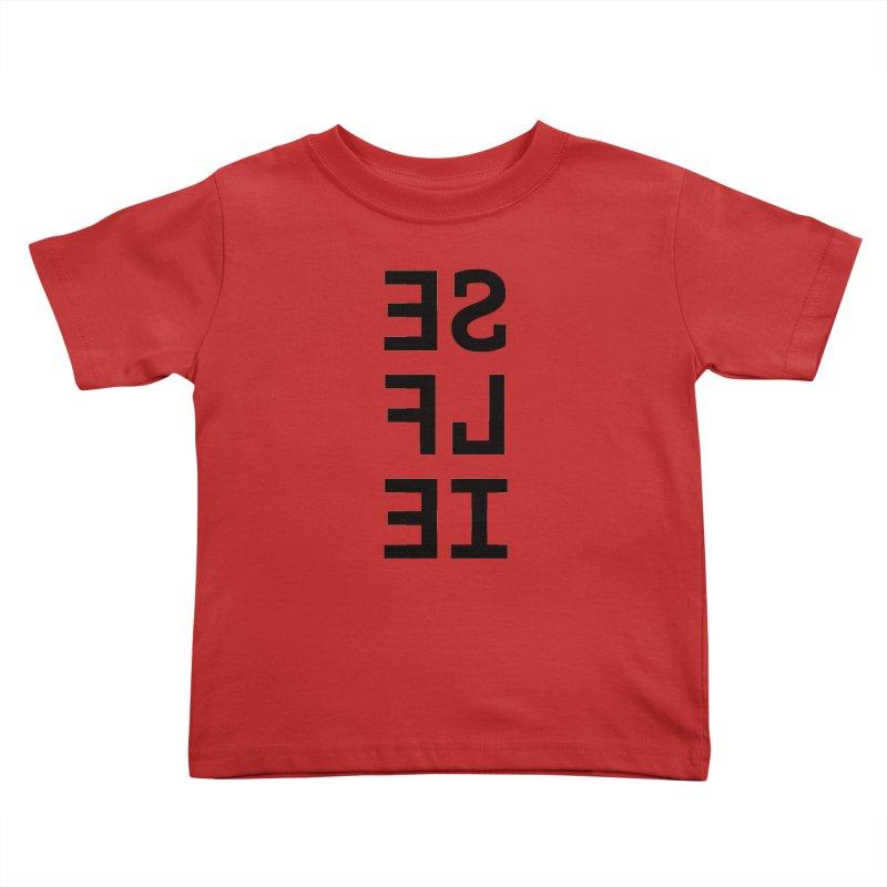 Selfie Kids Toddler T-Shirt by Elefunfunt