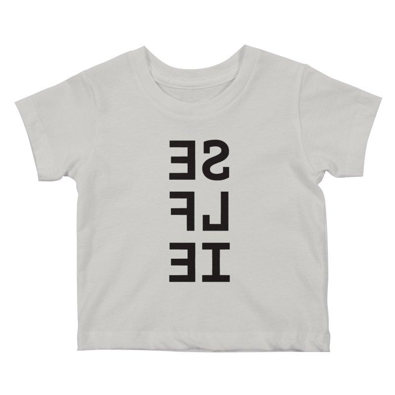 Selfie Kids Baby T-Shirt by Elefunfunt