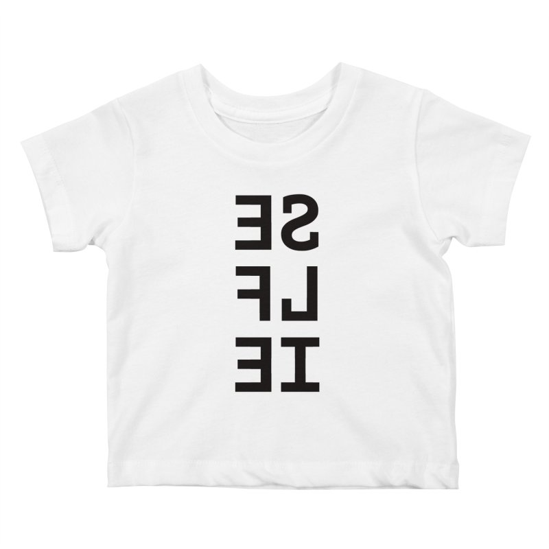 Selfie Kids Baby T-Shirt by Elefunfunt