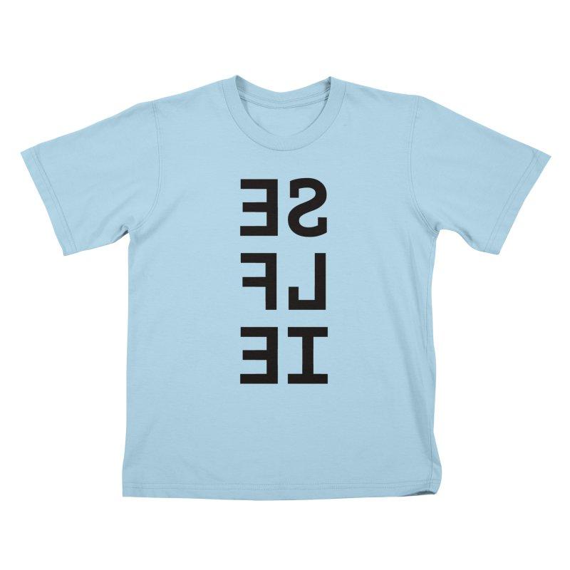 Selfie Kids T-Shirt by Elefunfunt
