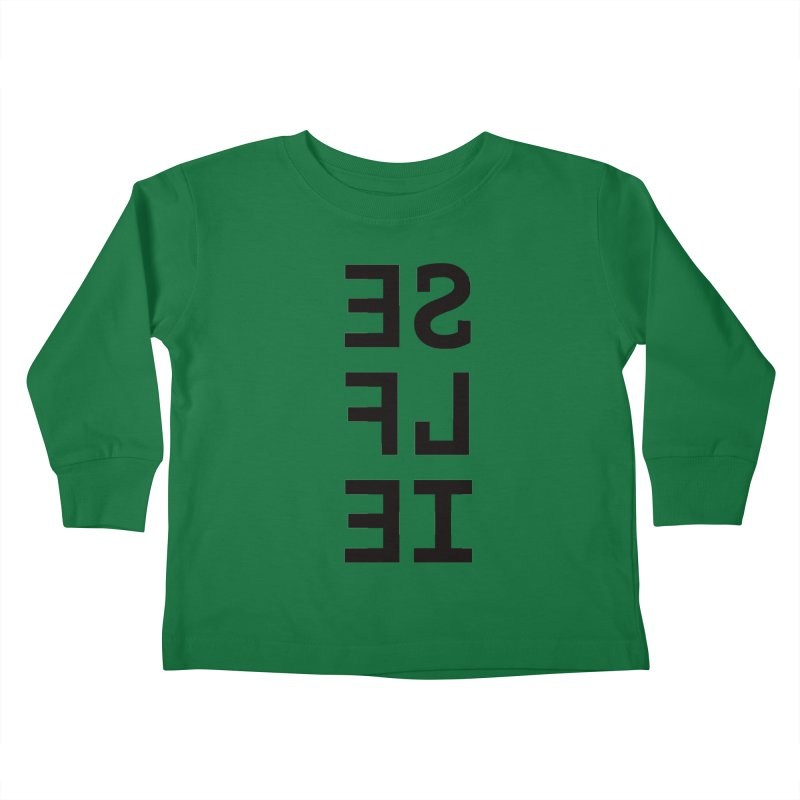 Selfie Kids Toddler Longsleeve T-Shirt by Elefunfunt