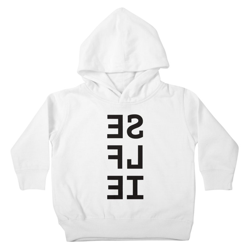 Selfie Kids Toddler Pullover Hoody by Elefunfunt