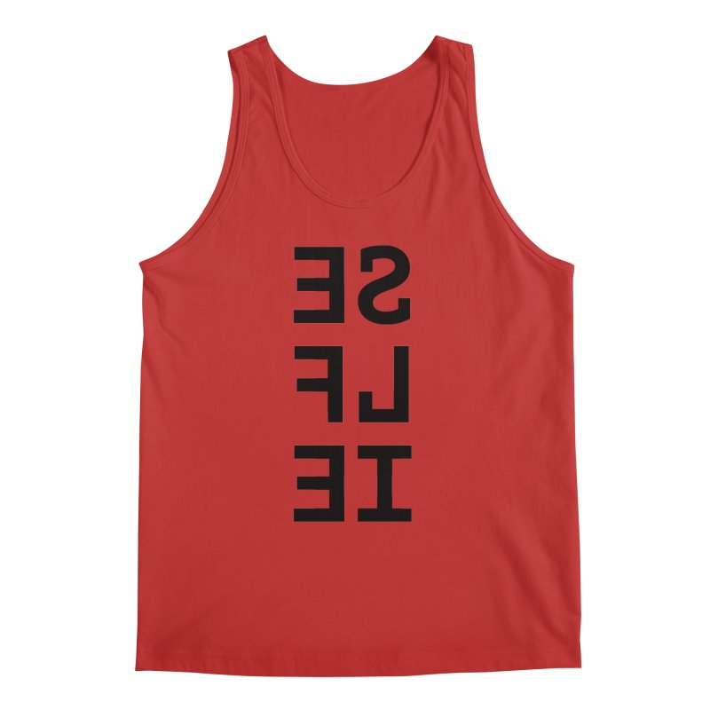 Selfie Men's Regular Tank by Elefunfunt