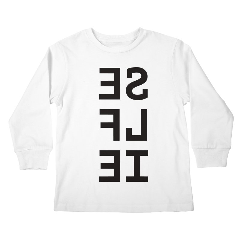 Selfie Kids Longsleeve T-Shirt by Elefunfunt