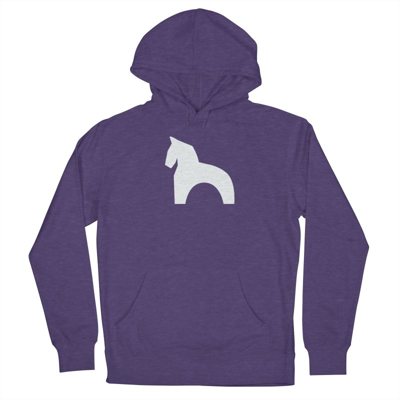 Toy horse (stolyarka.me) _dark Men's French Terry Pullover Hoody by Elefunfunt