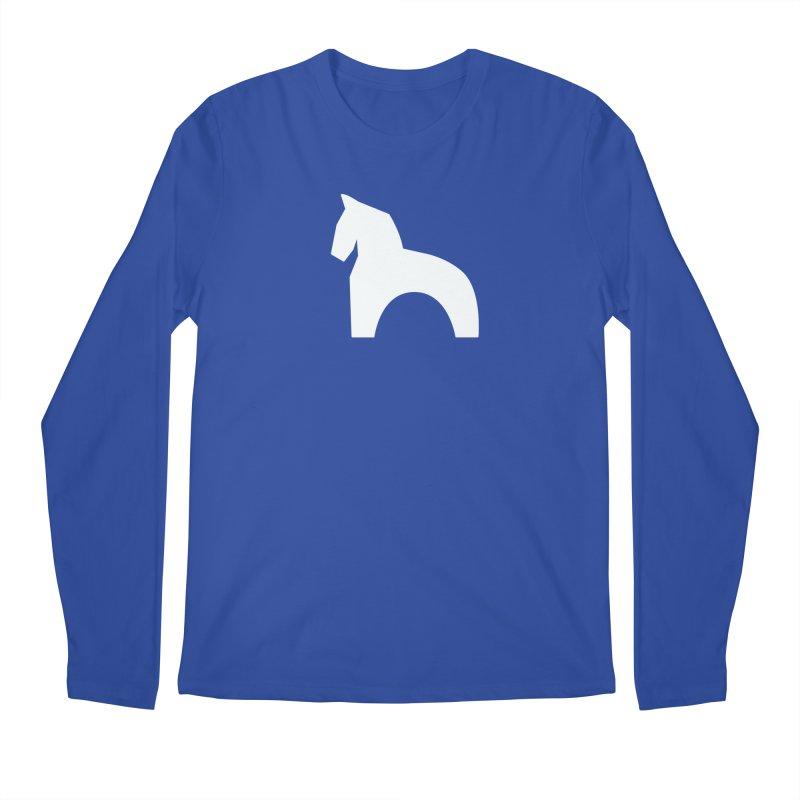 Toy horse (stolyarka.me) _dark Men's Regular Longsleeve T-Shirt by Elefunfunt