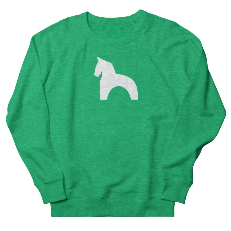 Toy horse (stolyarka.me) _dark Women's French Terry Sweatshirt by Elefunfunt