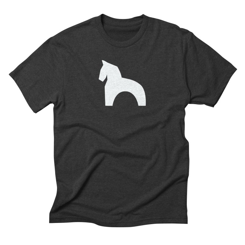 Toy horse (stolyarka.me) _dark Men's Triblend T-Shirt by Elefunfunt
