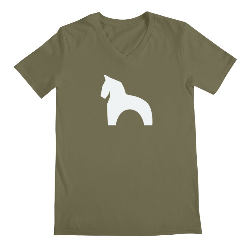 Toy horse (stolyarka.me) _dark Men's V-Neck by Elefunfunt