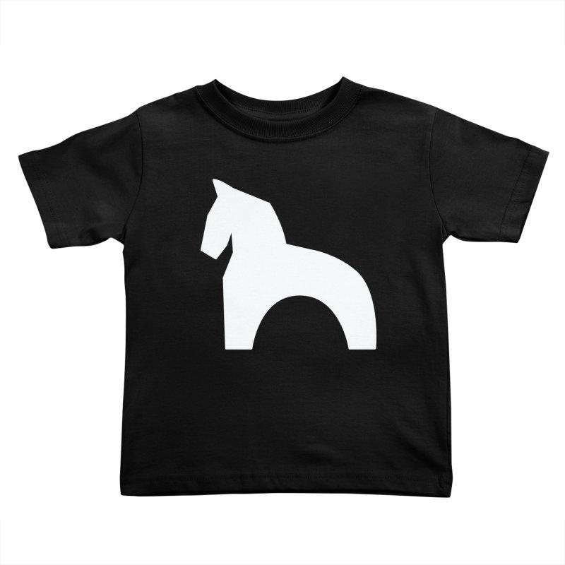 Toy horse (stolyarka.me) _dark Kids Toddler T-Shirt by Elefunfunt