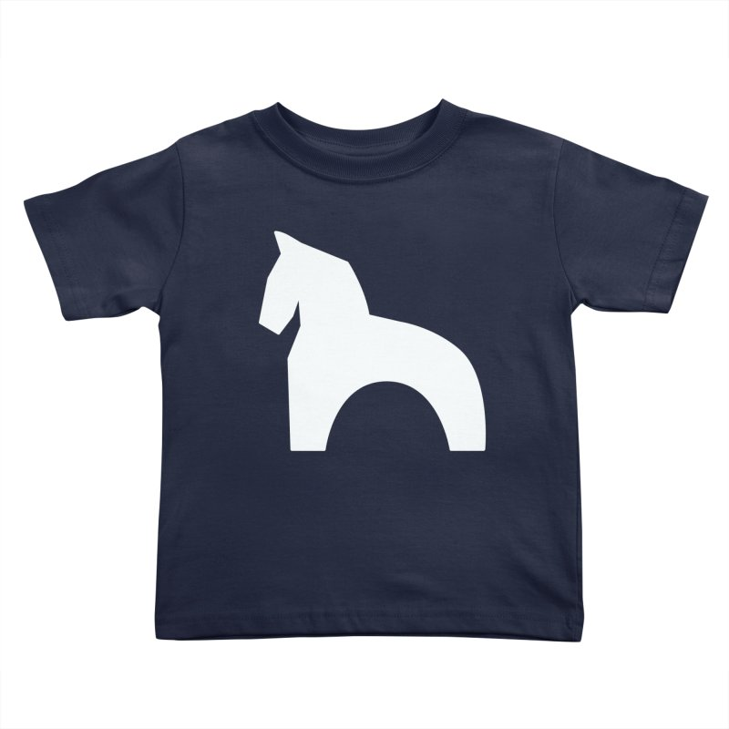 Toy horse (stolyarka.me) _dark Kids Toddler T-Shirt by Elefunfunt