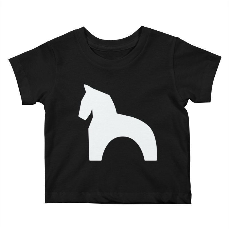Toy horse (stolyarka.me) _dark Kids Baby T-Shirt by Elefunfunt