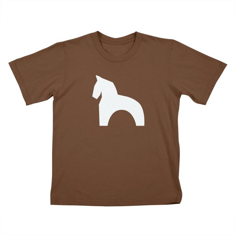 Toy horse (stolyarka.me) _dark Kids T-Shirt by Elefunfunt