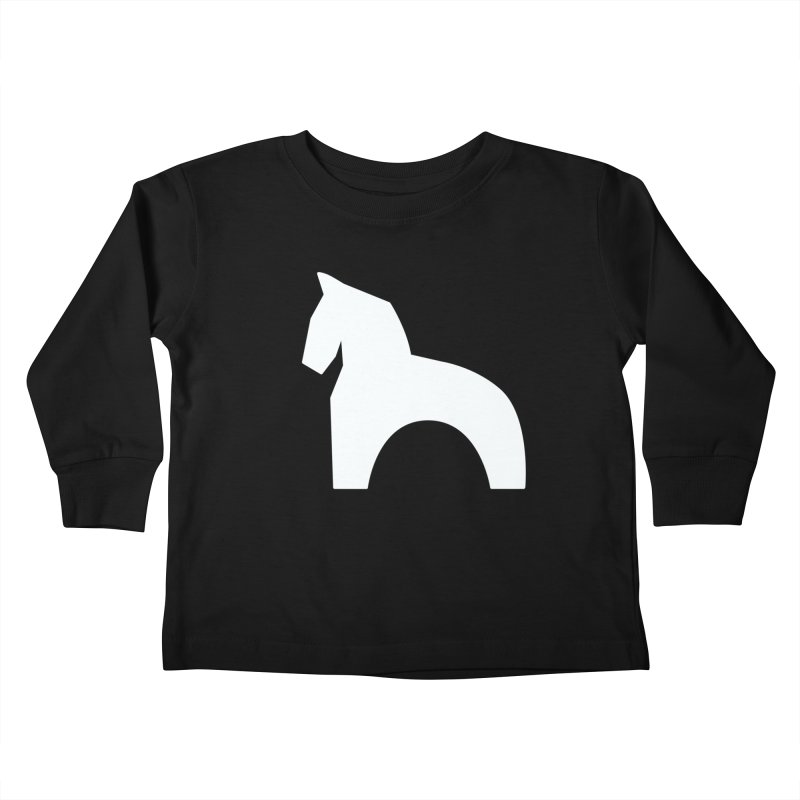 Toy horse (stolyarka.me) _dark Kids Toddler Longsleeve T-Shirt by Elefunfunt