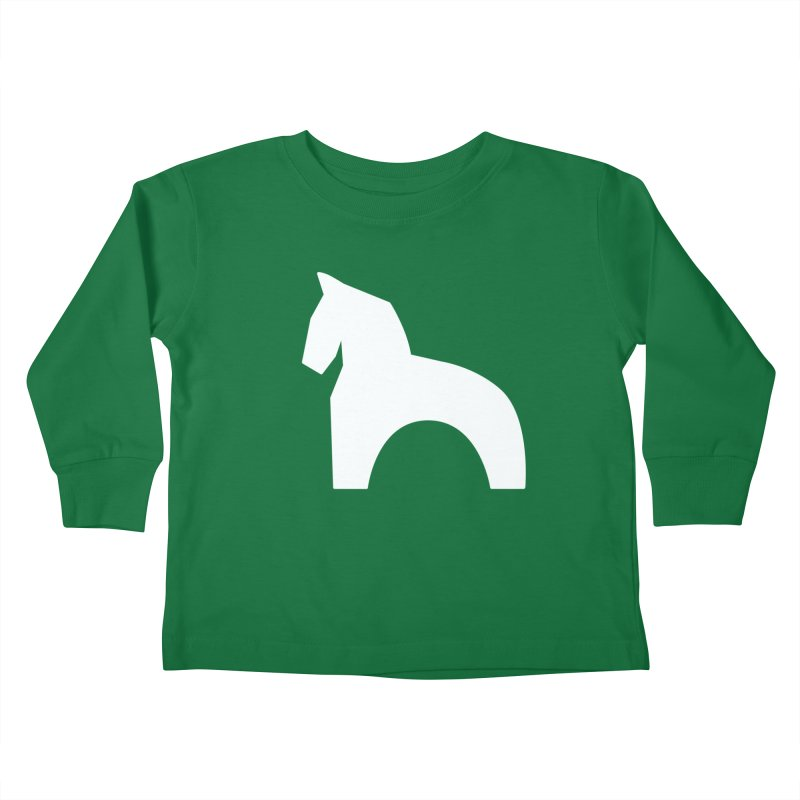 Toy horse (stolyarka.me) _dark Kids Toddler Longsleeve T-Shirt by Elefunfunt