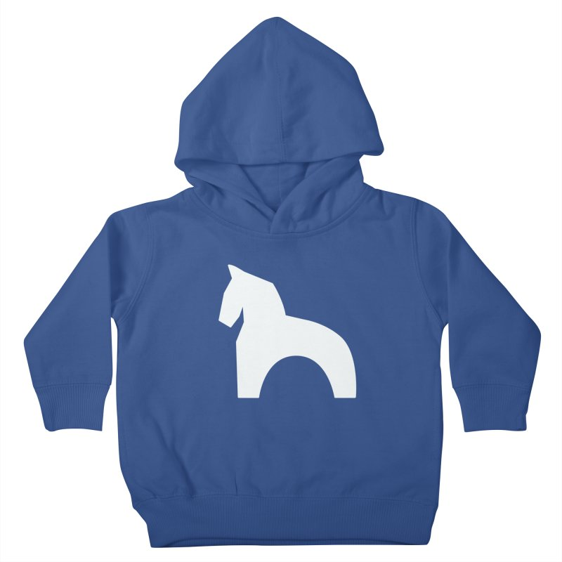 Toy horse (stolyarka.me) _dark Kids Toddler Pullover Hoody by Elefunfunt