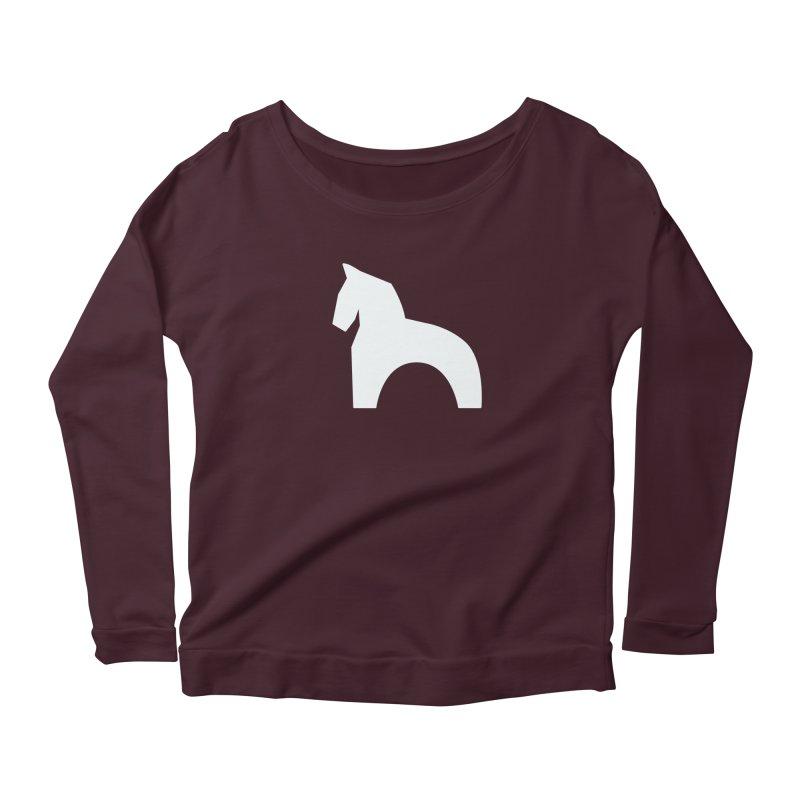 Toy horse (stolyarka.me) _dark Women's Longsleeve T-Shirt by Elefunfunt