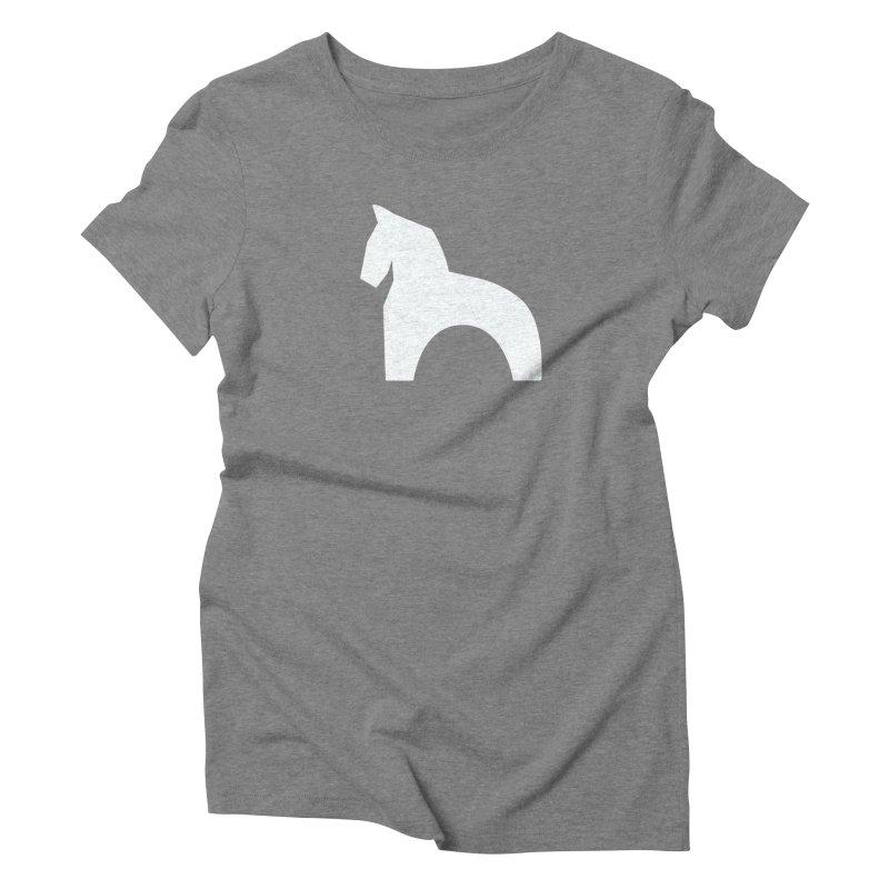 Toy horse (stolyarka.me) _dark Women's Triblend T-Shirt by Elefunfunt