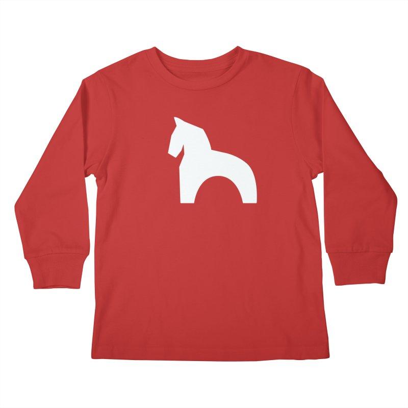 Toy horse (stolyarka.me) _dark Kids Longsleeve T-Shirt by Elefunfunt