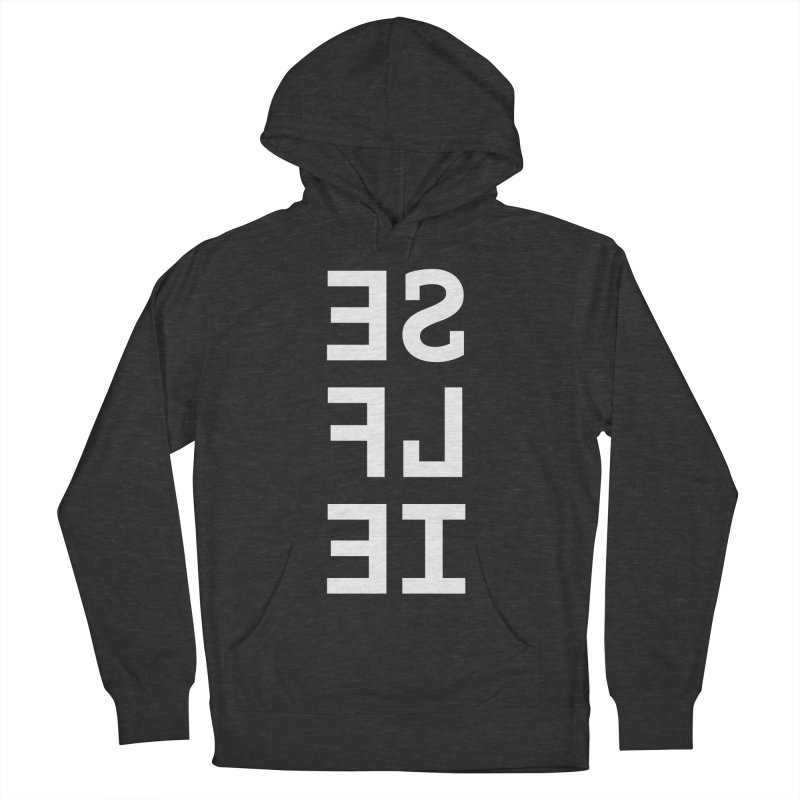 SE LF IE _dark Men's French Terry Pullover Hoody by Elefunfunt