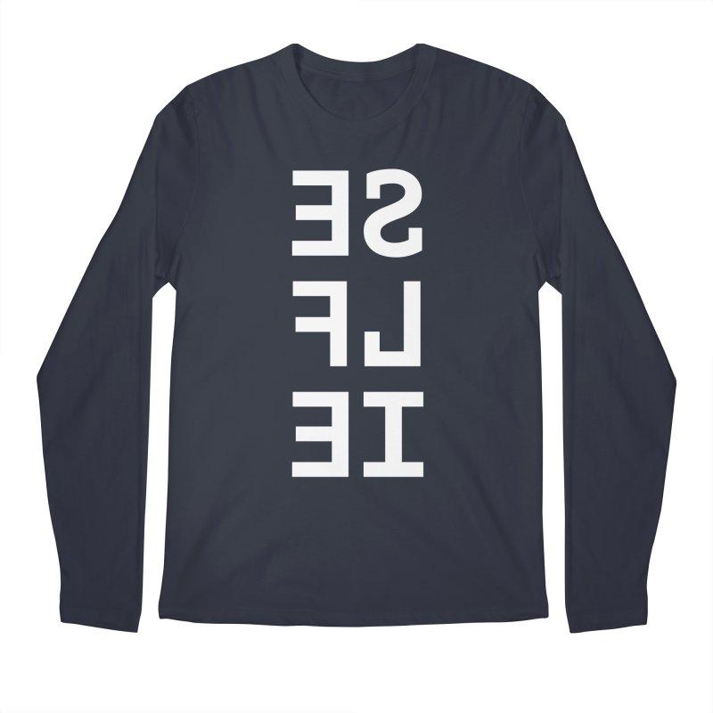 SE LF IE _dark Men's Longsleeve T-Shirt by Elefunfunt