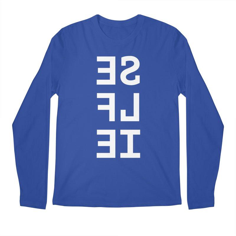 SE LF IE _dark Men's Regular Longsleeve T-Shirt by Elefunfunt