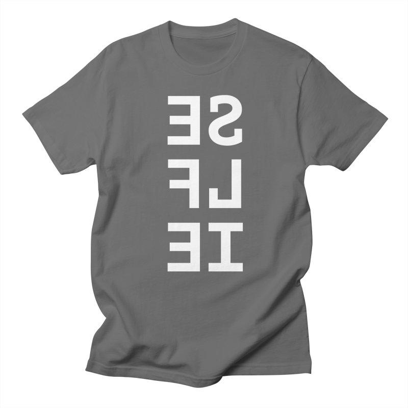 SE LF IE _dark Men's T-Shirt by Elefunfunt
