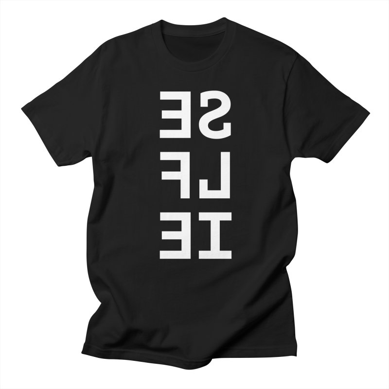 SE LF IE _dark Men's T-Shirt by Elefunfunt
