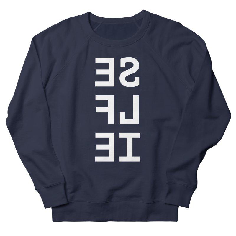 SE LF IE _dark Women's French Terry Sweatshirt by Elefunfunt