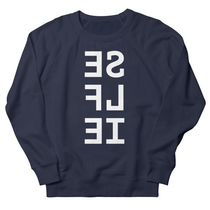 SE LF IE _dark Men's Sweatshirt by Elefunfunt