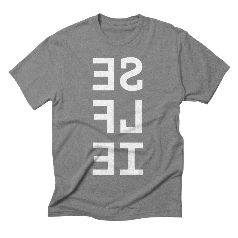 SE LF IE _dark Men's Triblend T-shirt by Elefunfunt