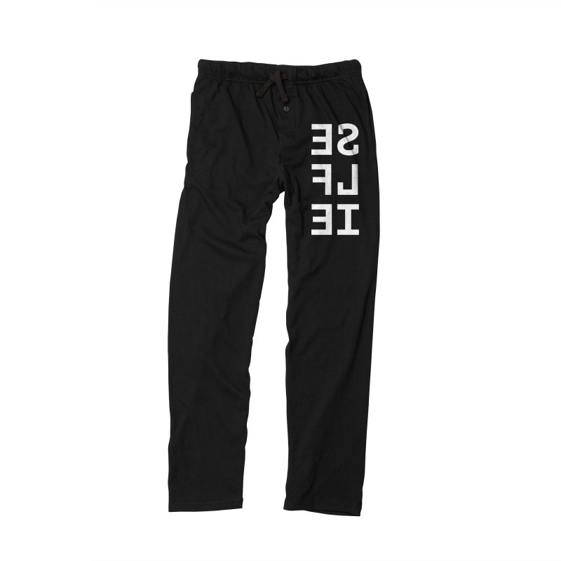 SE LF IE _dark Men's Lounge Pants by Elefunfunt
