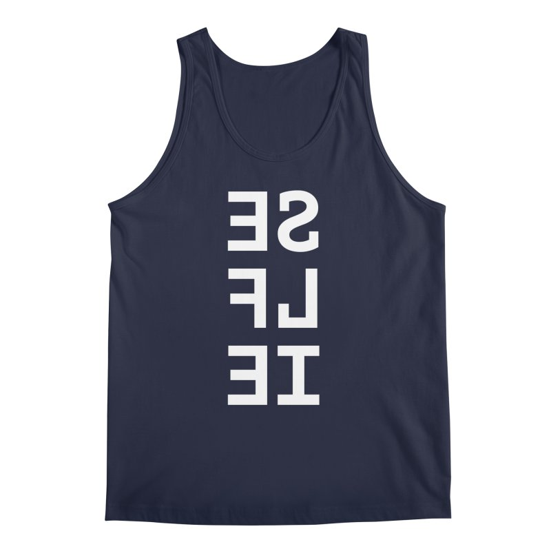 SE LF IE _dark Men's Regular Tank by Elefunfunt