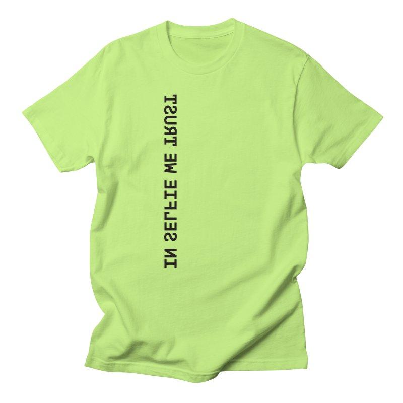 In Selfie We Trust _Zip Men's T-Shirt by Elefunfunt