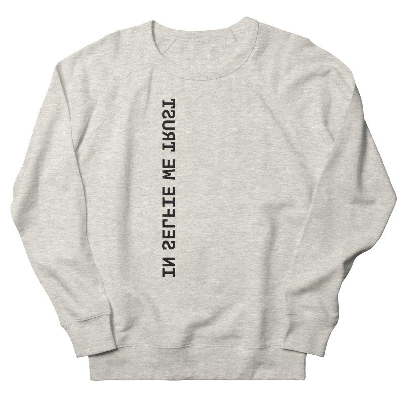 In Selfie We Trust _Zip Women's French Terry Sweatshirt by Elefunfunt