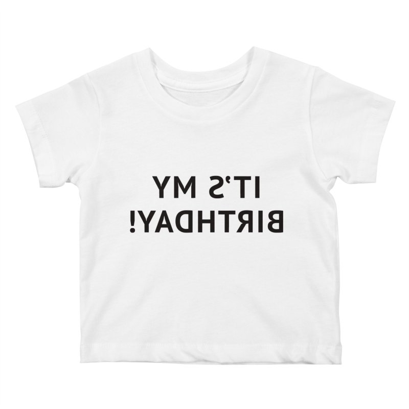 It's My Birthday! Kids Baby T-Shirt by Elefunfunt