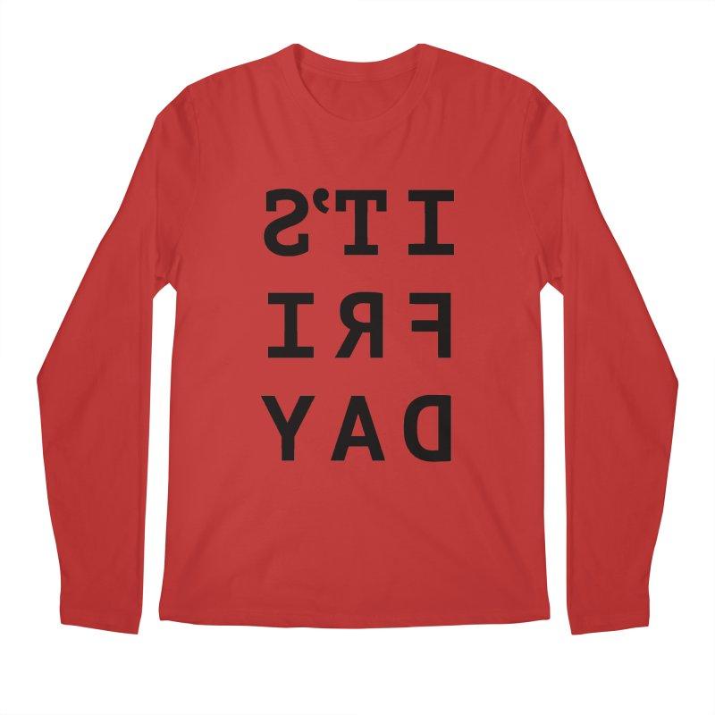 It's Friday Men's Longsleeve T-Shirt by Elefunfunt