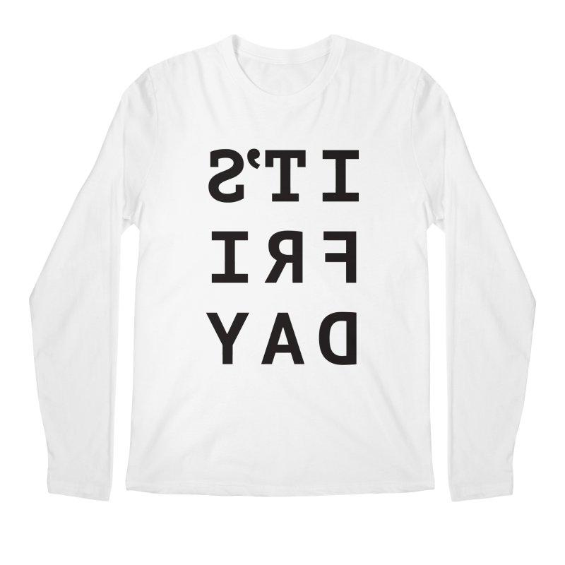 It's Friday Men's Regular Longsleeve T-Shirt by Elefunfunt