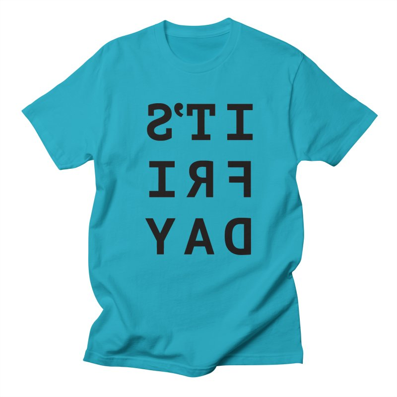 It's Friday Men's Regular T-Shirt by Elefunfunt