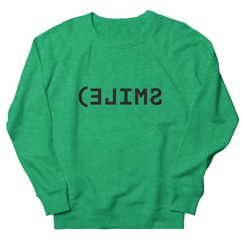 Smile Women's Sweatshirt by Elefunfunt