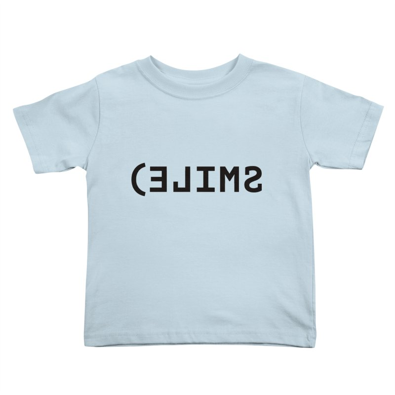 Smile Kids Toddler T-Shirt by Elefunfunt