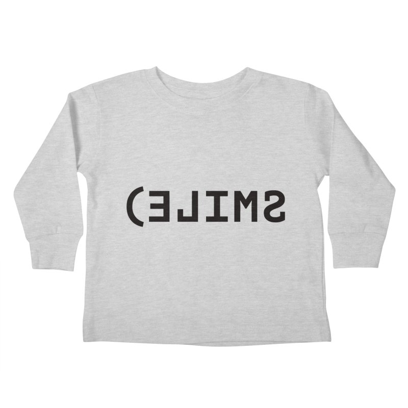 Smile Kids Toddler Longsleeve T-Shirt by Elefunfunt