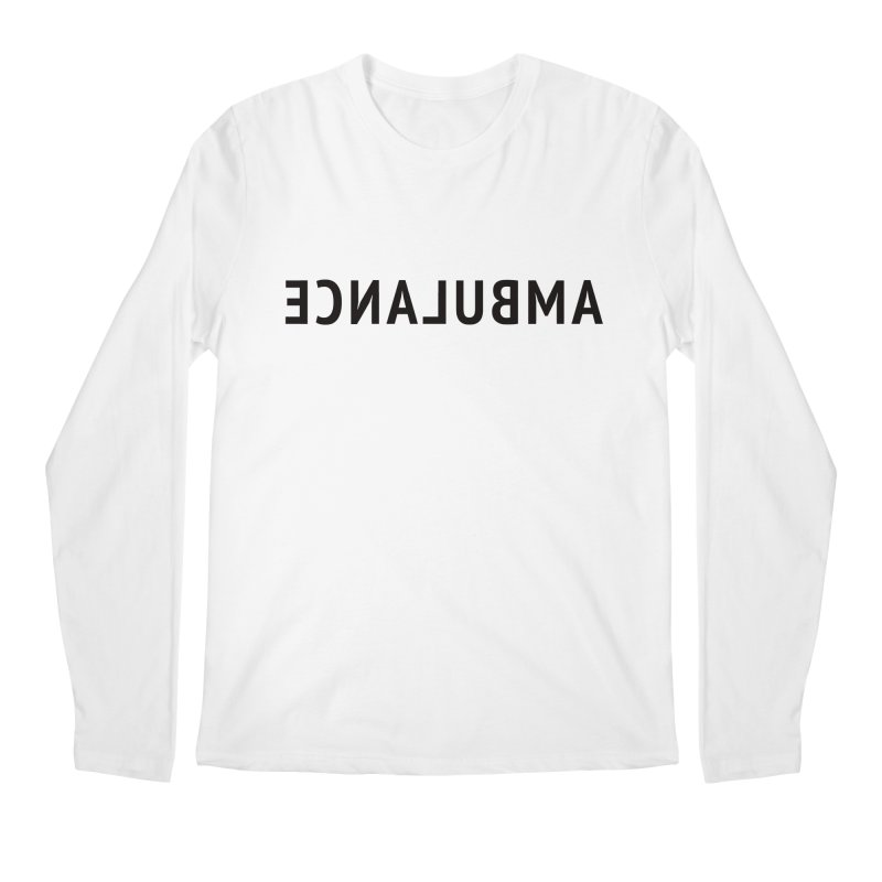 Ambulance Men's Longsleeve T-Shirt by Elefunfunt