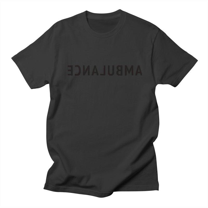 Ambulance Men's Regular T-Shirt by Elefunfunt