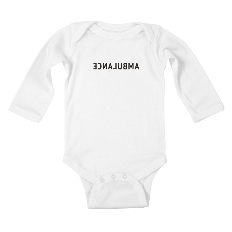 Ambulance Kids Baby Longsleeve Bodysuit by Elefunfunt