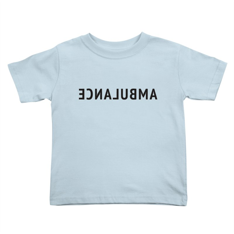 Ambulance Kids Toddler T-Shirt by Elefunfunt