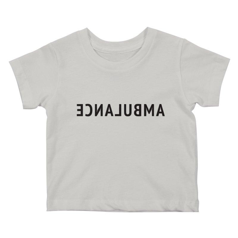 Ambulance Kids Baby T-Shirt by Elefunfunt