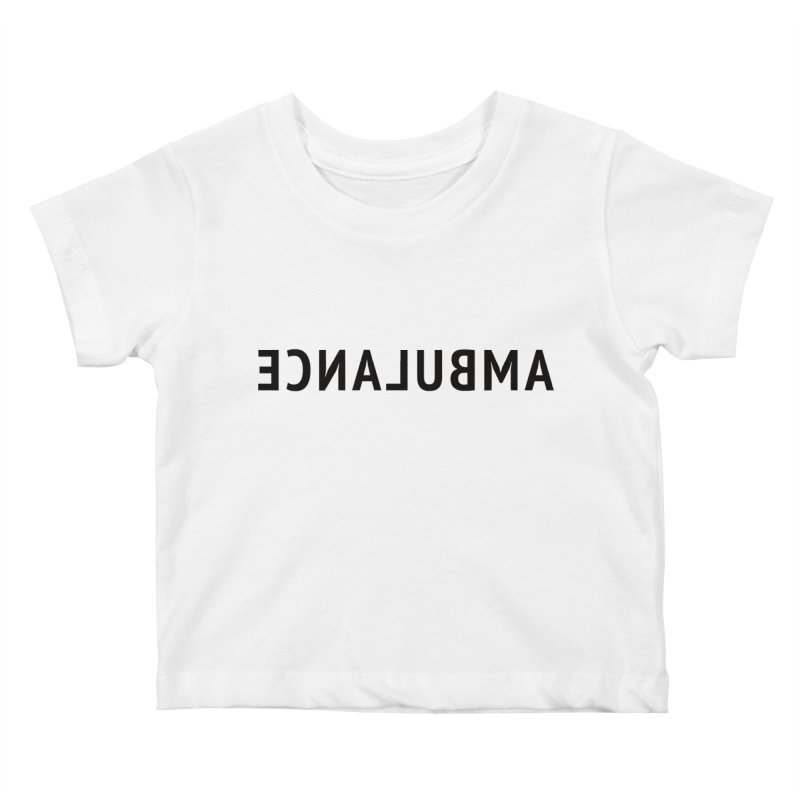 Ambulance Kids Baby T-Shirt by Elefunfunt