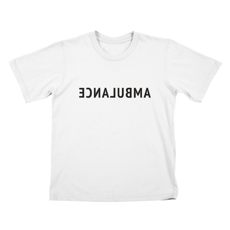 Ambulance Kids T-Shirt by Elefunfunt
